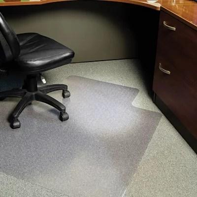 office chair mat sit up for babies es robbins 45 x 53 task series anchorbar lip sam s club
