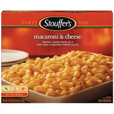 Stouffer39s Party Size Macaroni Cheese 4 lb Sam39s Club