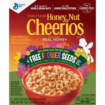 Honey Nut Cheerios Cereal (2 boxes 27.5oz) - Sam's Club