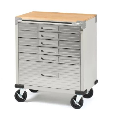 Seville Classics UltraHD 6Drawer Rolling Cabinet  Sams Club