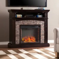 Hastings Electric Fireplace Media Console - Sam's Club