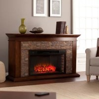 Cumberland Electric Fireplace, Whiskey Maple - Sam's Club