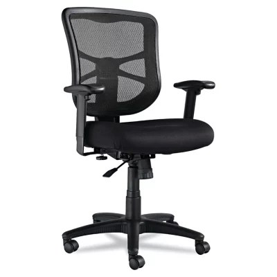 alera elusion chair bentwood cane cafe chairs series mesh mid back swivel tilt black sam s club