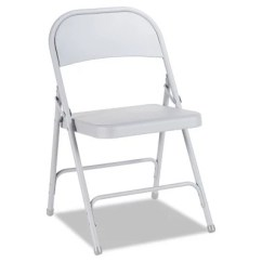 Armless Folding Chair Fabric Twin Sleeper Bed Alera Steel Select Color 4 Pack Sam S Club