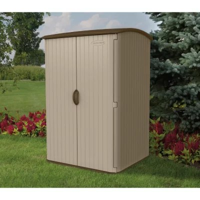 Suncast 65 H x 4 W Vertical Extra Large Resin Shed