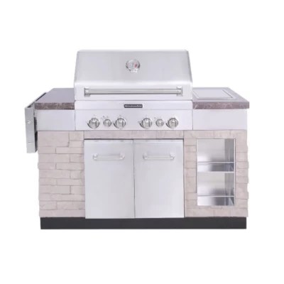 kitchen aid gas grills pull out faucet kitchenaid 30 outdoor island 4 burner grill sam s club
