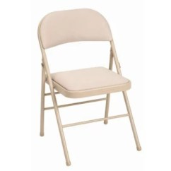 Folding Fabric Chairs Chair King Sam Houston Cosco Padded Tan S Club