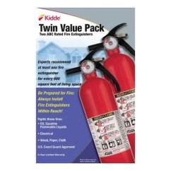 Kidde Kitchen Fire Extinguisher Reglaze Sink Twin Pack Rated 1a10bc Sam S Club Zoom Pan
