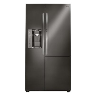 Stainless Steel Fridge With Black Sides  Bindu Bhatia Astrology