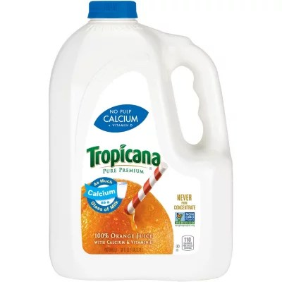 Tropicana Pure Premium Orange Juice 128 oz Jug Sam39s