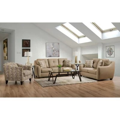 sam s club upholstered chairs lifetime folding member mark talbot sofa loveseat and accent chair set