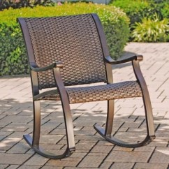 Woven Rocking Chair Chairs Wedding Poland Member S Mark Agio Heritage Sam Club