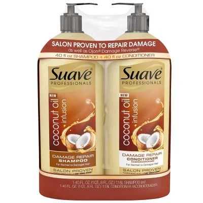 Suave Professionals Damage Repair Shampoo  Conditioner