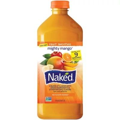 Naked Juice Mighty Mango Fruit Smoothie 72 oz Sam39s Club