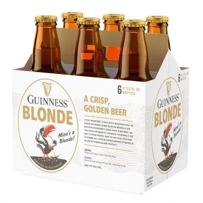Guinness Blonde American Lager 11 2 Fl Oz Bottle 6 Pk