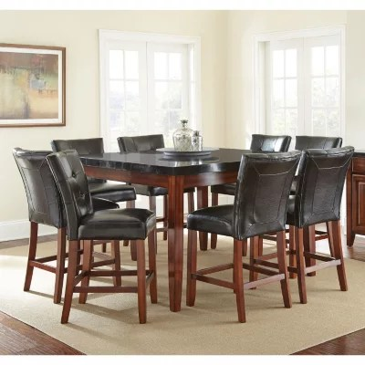 8 seater round dining table and chairs folding directors chair scott counter height set sam s club