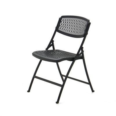Mity Lite Flex One Folding Chair Black  4 pack  Sams Club
