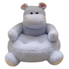 Stuffed Animal Chair Peg Perego Prima Pappa Best High 23 Round Blue Hippo Plush Sam S Club
