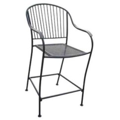 Wrought Iron Chair Places To Rent Tablecloths And Covers Near Me Bar Height Outdoor Sam S Club