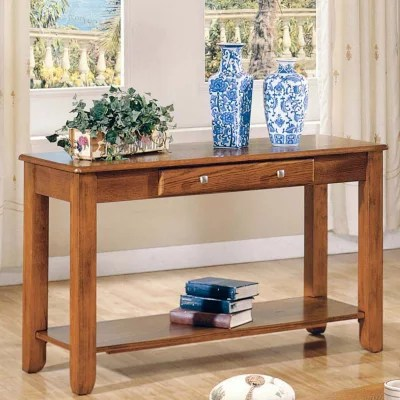 sams club living room furniture ideas modern 2017 logan oak sofa table by lauren wells - sam's