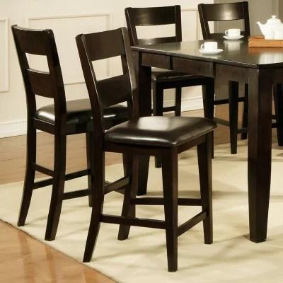 counter height chair double papasan frame and cushion weston chairs espresso 2 pk sam s club