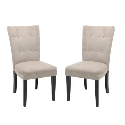 parson chairs accent chair and table set midtown beige parsons 2 pk sam s club