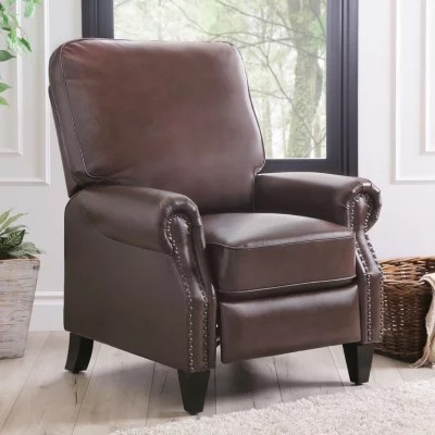 sams club living room furniture shabby chic with brown sofa braxton leather pushback recliner - sam's