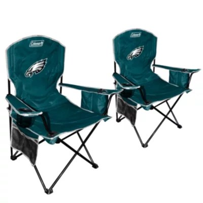 philadelphia eagles chair beach with cover nfl cooler quad 2 pack sam s club