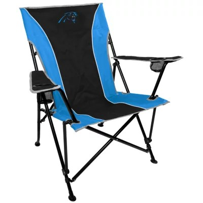 carolina panthers folding chairs wedding chair covers for sale gumtree nfl deluxe tailgate sam s club