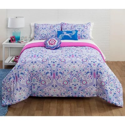 Trellis Reversible Bedding Comforter Set Home Ideas