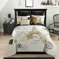 Idea Nuova Paris Gold 8-Piece Comforter Set (Assorted ...