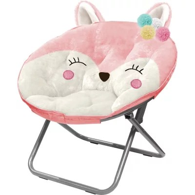saucer chair for kids revolving spare parts in mumbai american plush animal sam s club