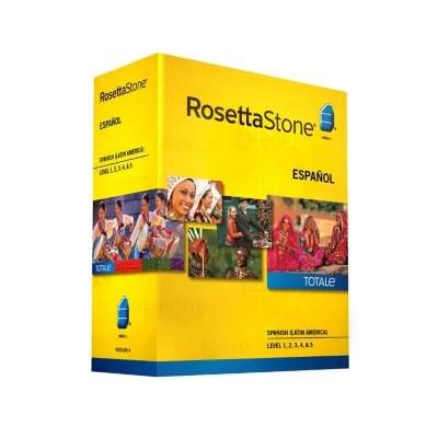 Rosetta Stone Spanish Latin America Level 1-5 Set - Pc Mac Sam' Club