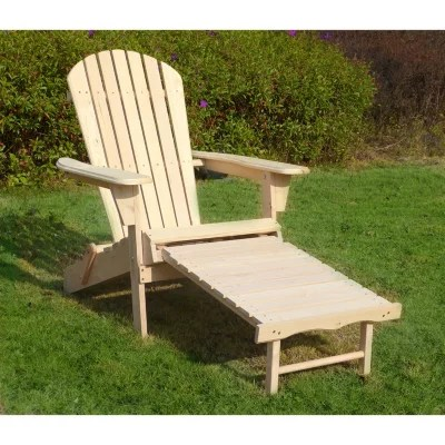 adirondack chair kit saucer for adults with pullout ottoman sam s club