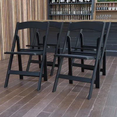 Hercules Resin Folding Chair Black  Sams Club