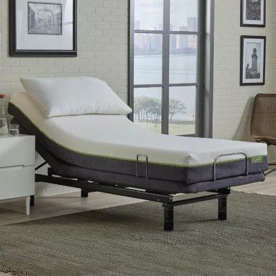 LulaaBED 9 Emerald Medium Twin XL Mattress and LB200