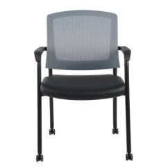 Stackable Rolling Chairs Folding Bar Chair India Offline-seatwell Leather Conference Chair, Black/gray - Sam's Club