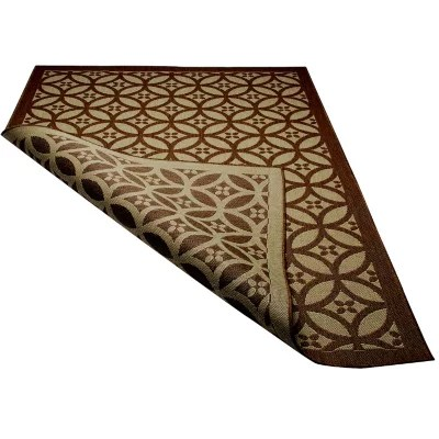 All Weather Reversible Outdoor Rug  5' X 8'  Sam's Club