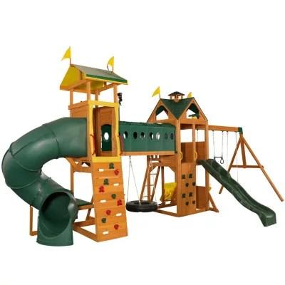 Kidkraft Mockingbird View Swing Set Activity Center