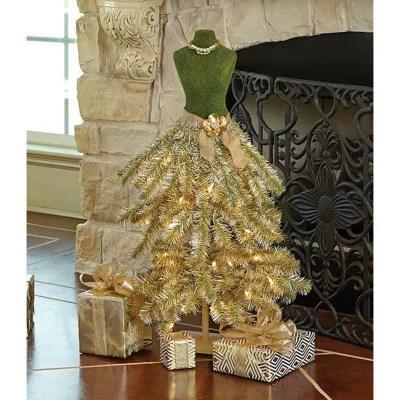 Members Mark Premium 3 Dress Form Tree Champagne Sams