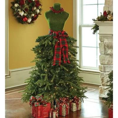 Members Mark Premium 5 Dress Form Tree Red Amp Green Sam