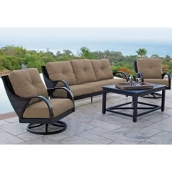 Hawthorne Oversized Sling Chairs White Folding Chair Covers Ebay Patio Furniture Near Me Sam S Club Rosemount 4 Piece Motion Deep Seating Set Various Colors