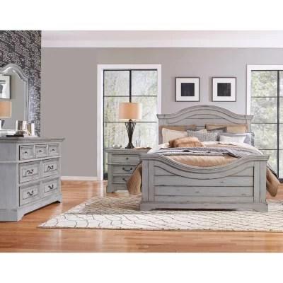 Highland Creek Bedroom Furniture Set Weathered Gray