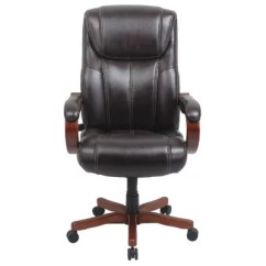 Sams Club Office Chairs Graco Elephant High Chair Barcalounger Executive Wood Big & Tall Chair, Brown (supports Up To 350 Lbs.) - Sam's