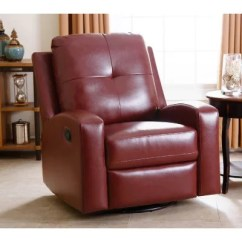 Red Recliner Chairs Office Chair Low Back Stevens Leather Swivel Glider Assorted Colors Sam S Club Zoom Pan