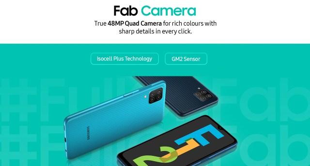 Galaxy F12 Camera