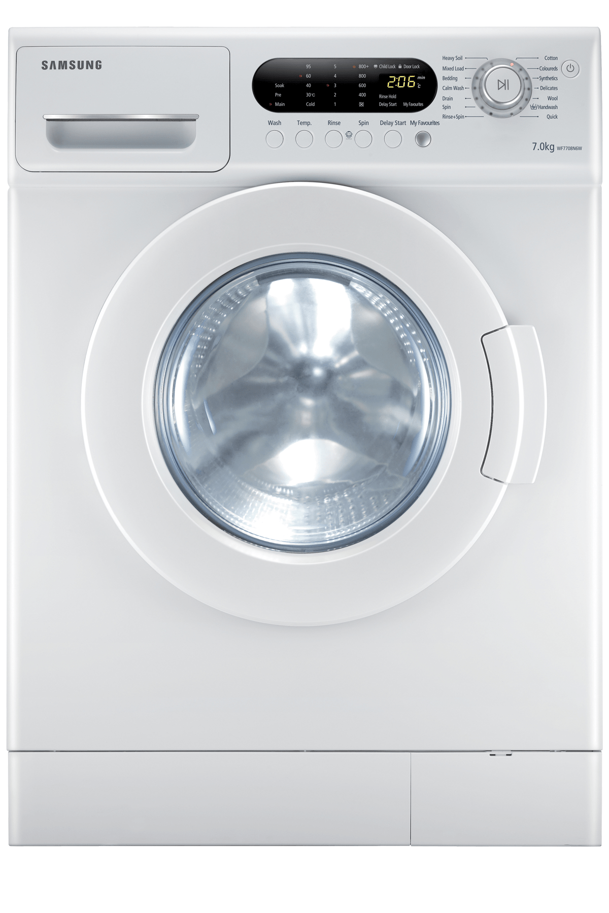 medium resolution of front load 7kg washing capacity wf7708n6w1