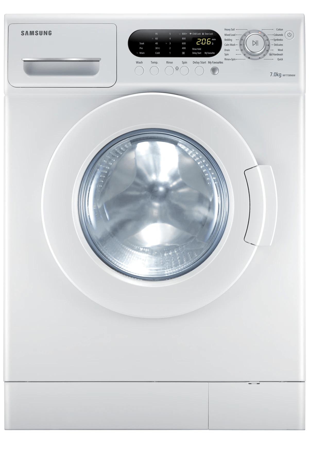medium resolution of front load 7kg washing capacity wf7708n6w1
