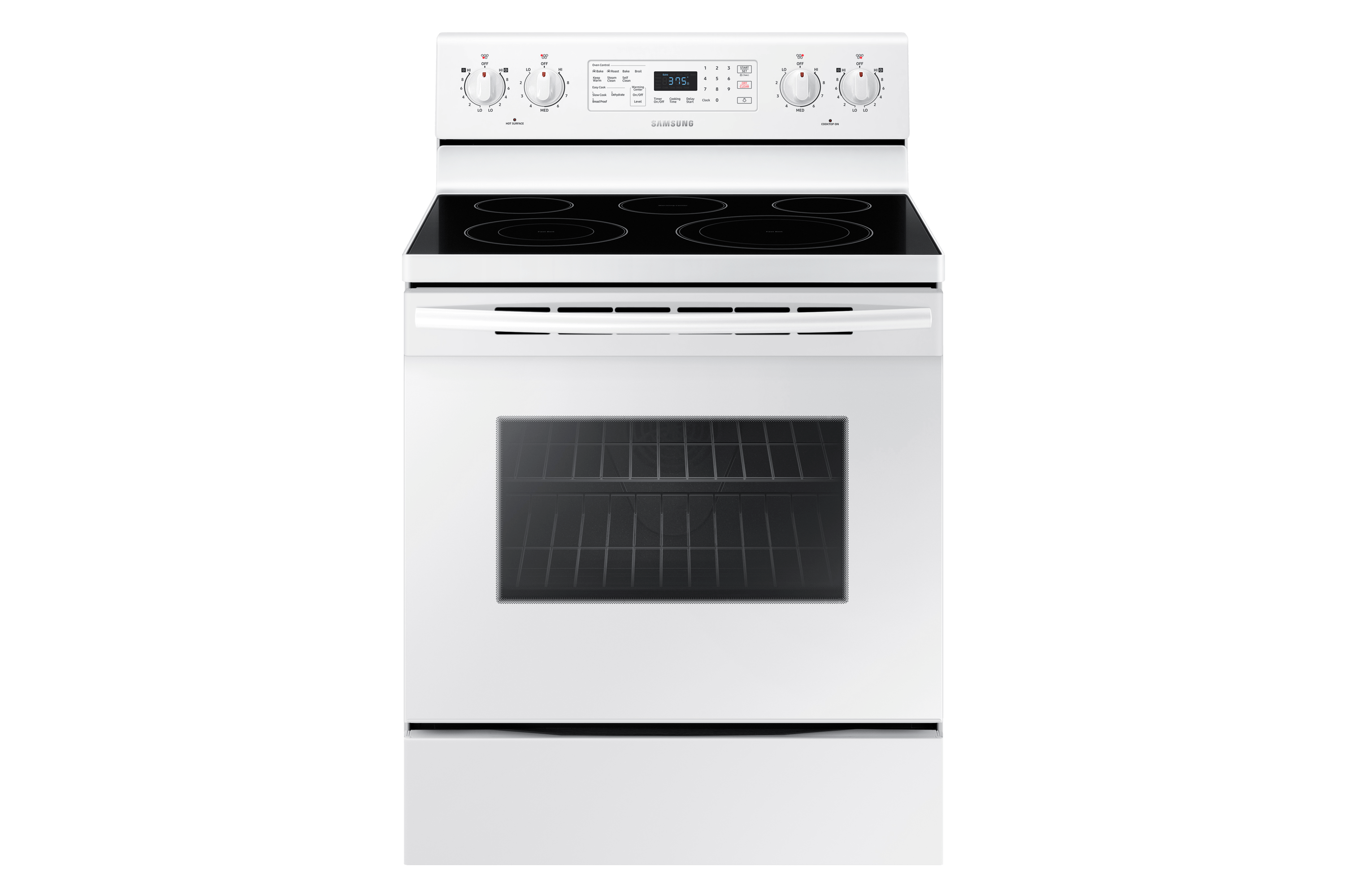 small resolution of ne59m4320sw electric range with fan convection 5 9 cu ft