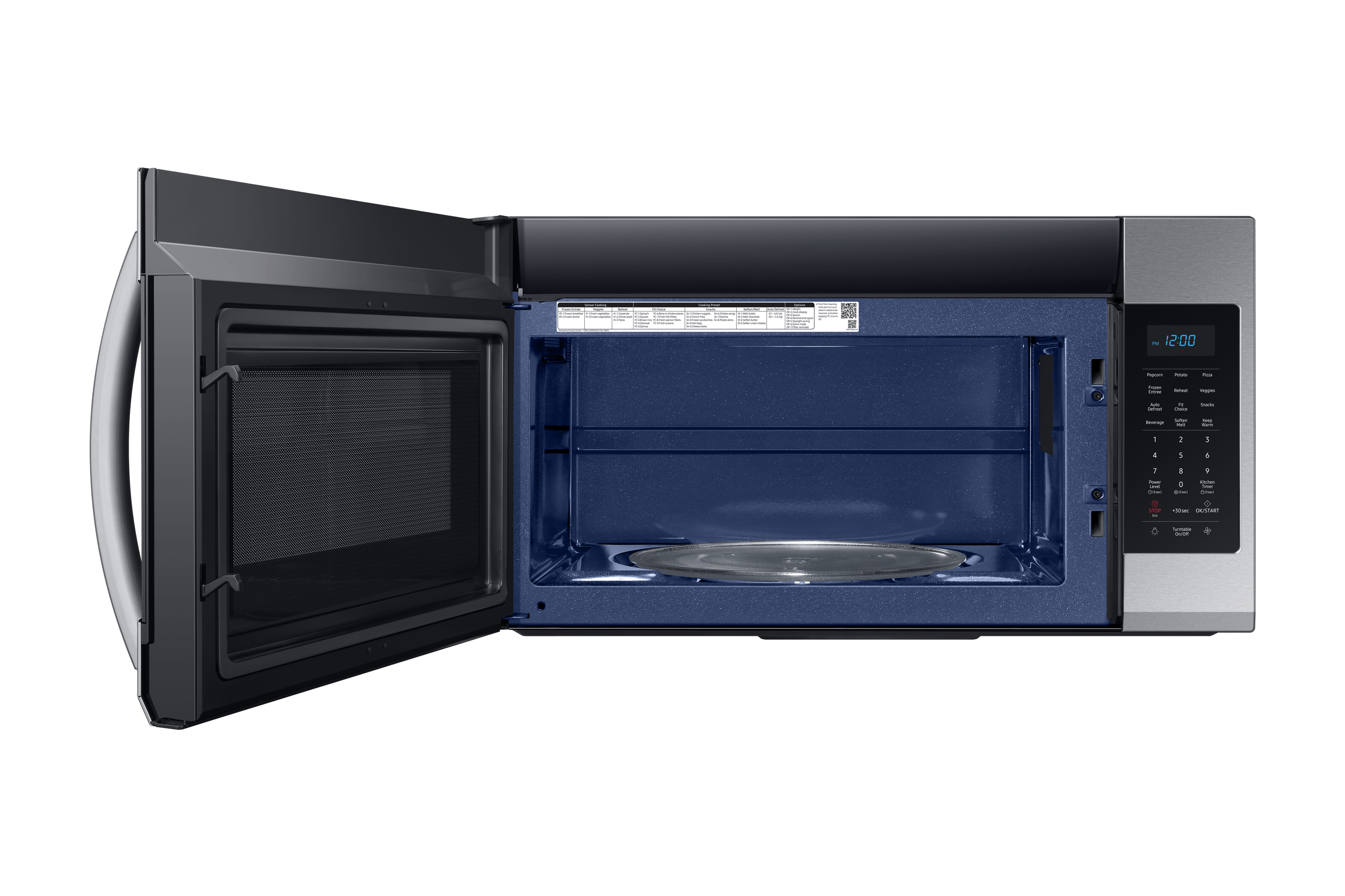 me19r7041fs 1 9 cu ft over the range microwave stainless steel